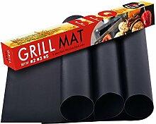 Kihappy Heavy Duty Grill Mat - 100% Non-Stick BBQ