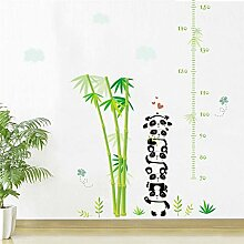 KIHUI Panda Bambus Wolken Pflanze höhe messen
