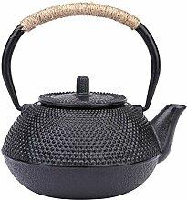 Kikier Gusseisen-Teekanne, japanische Teekanne,