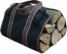 KIKIGOAL Schwerlast Wasserdicht Kaminholztragetasche Holzen-Tasche Brennholz-Tasche Tasche für Holzen Brennholz einnehmen