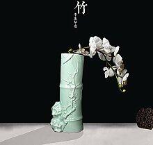 KIKIXI Chinesische Exquisite Celadon Vase