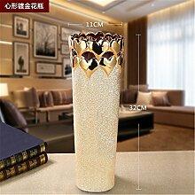 KIKIXI Yuhang Keramik dekorative Golden Flower