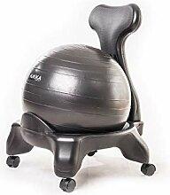 Kikka Active Chair schwarz - Stuhl mit