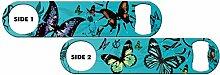 Killer Inked Bottle Opener: Butterfly Kisses -