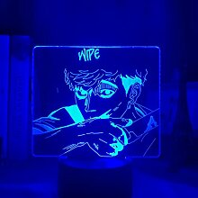 Killing Stalking Light Acryl 3d Lampe Sangwoo für