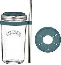 Kilner 0025.036 Smoothie, Glas, Silikon, 500