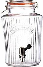Kilner 0025.766 Vintage Getränkespender, Glas,