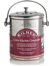 KILNER Biomülleimer Küchen-Komposter, inkl. 2