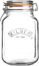 KILNER Bügelverschlussglas eckig 1,5 Liter