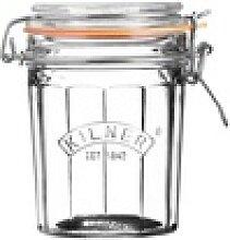 KILNER Bügelverschlussglas facettiert 0,45 Liter