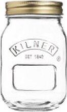 KILNER Einmachglas mit Schraubdeckel 0,5 Liter