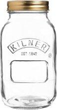 KILNER Einmachglas mit Schraubdeckel 1 Liter