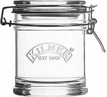 Kilner Signature Glas mit Bügelverschluss, Glas,