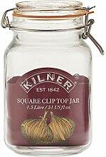 Kilner - Vorratsglas Bügelverschluß 1,5L (12
