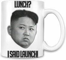 Kim Jong Un Lunch Kaffee Becher