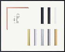 Kimberly Echt Aluminium Bilderrahmen 50 x 70 cm