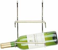 Kimco Rail-Way Weinregal für 2 Flaschen, Chrom