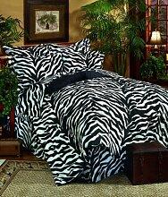 Kimlor Mills Karin Maki Zebra Bettwäsche-Set für
