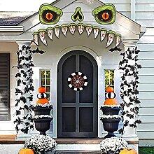 KIMOBER Halloween-Monster-Gesichtsdekoration,