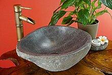 Kinaree Naturstein Waschbecken, handgefertigtes