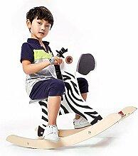 Kind Schaukelpferd Massivholz Rocker Spielzeug