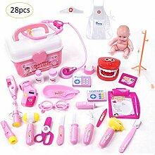 Kind Spielzeug Arzt Mädchen Zubehör Arzt