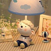 Kind Tischlampe E27 Lichtquelle Tuch Lampenschirm