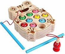 Kinder Angeln Spielzeug Yusell Holz so tun, als ob