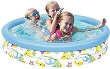 Kinder Aufblasbares Schwimmbad Kinderbecken Baby