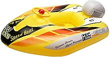 Kinder aufblasbars Boot mit Lenkrad | Aufblasbarer