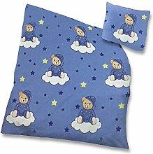 Kinder Baby Bettwäsche Baumwolle 2 teilig 100x135