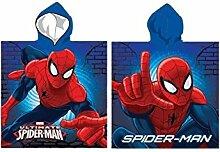 Kinder-Badeponcho Spiderman, 55x110cm