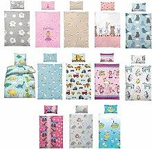 Kinder Bettwäsche 100 x 135 cm + Kissen 40 x 60