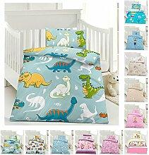 Kinder Bettwäsche, Babybettwäsche 100x135 cm +