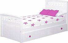 Kinder Bettwäsche Sterne mit Nest Colchón 90 x