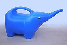Kinder Bewässerung Werkzeuge Garten-Bewässerung Töpfen Spray Elefant blau