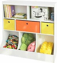 Kinder Bücherregal Kinderregal mit 5