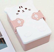 Kinder Cartoon niedlichen Bento Box Doppelschicht