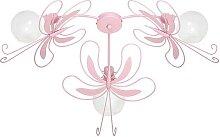Kinder-Deckenleuchte Schmetterling 3xE27/60W rosa