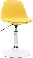 Kinder-Design-Schreibtischstuhl Gelb STEEVY