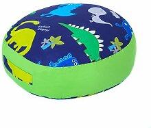 Kinder Dino in der Dunkelheit Bettwäsche und Möbel Sammlung Kinderzimmer Kindergarten Spielzimmer - Round Floor Cushion