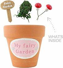 Kinder Fairy Garden Starter Pack Small ideal Geschenk für Kinder