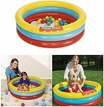 Kinder FISHER PRICE Ballpool Bällebad Planschbecken Schwimmbecken Badespaß Pool inkl. Spielbälle