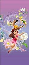 Kinder Fototapete - Fairies on viole