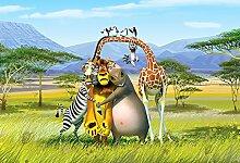 Kinder Fototapete Poster MADAGASKAR AFRIKA
