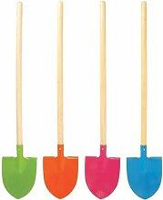 Kinder Garten-Gerät Spaten, farbig sortiert