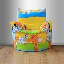 Kinder Gefüllt Bohne Sessel Savannah
