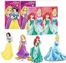 Kinder Geschenkidee - Disney Princess Handtücher, Gesichtstücher, 35 * 65 cm (2er Pack)