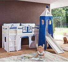 Kinder-Hochbett Londa mit Leiter Pharao24