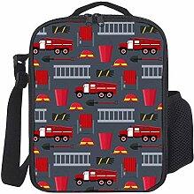 Kinder Isolierte Lunch Tasche Feuerwehrmann